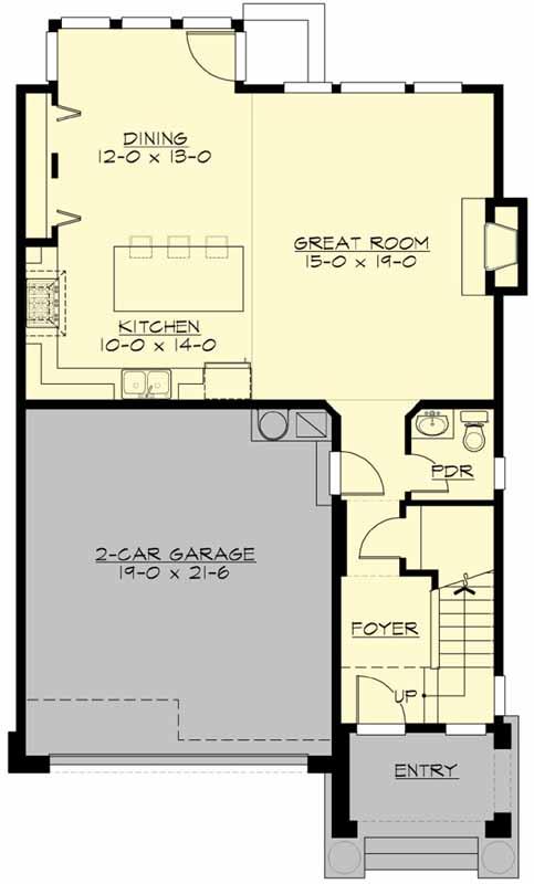 Main Floor Plan: 88-191