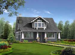 Craftsman Style House Plans Plan: 88-198