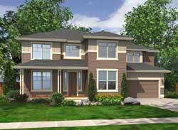 Northwest Style Floor Plans Plan: 88-200