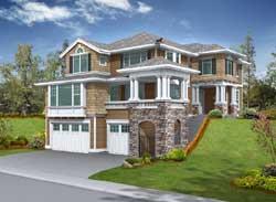 Hampton Style House Plans Plan: 88-214