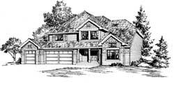 Craftsman Style House Plans Plan: 88-223