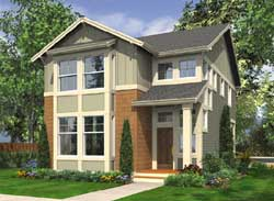 Craftsman Style Floor Plans Plan: 88-225