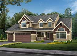 Traditional Style House Plans Plan: 88-236