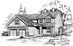 Northwest Style House Plans Plan: 88-241