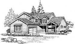 Craftsman Style Floor Plans Plan: 88-246