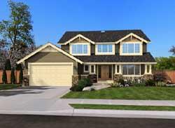 Craftsman Style House Plans Plan: 88-255