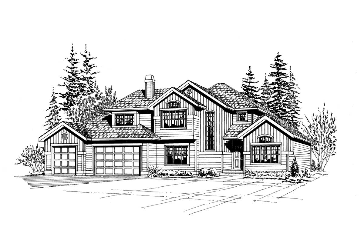 Craftsman Style House Plans Plan: 88-271