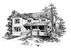 Craftsman Style House Plans Plan: 88-272