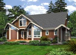 Northwest Style Floor Plans Plan: 88-273