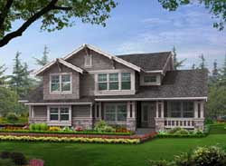 Craftsman Style House Plans Plan: 88-281