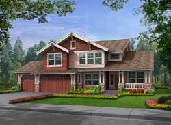 Craftsman Style House Plans Plan: 88-282