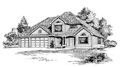 Northwest Style House Plans Plan: 88-301