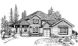 Craftsman Style House Plans Plan: 88-305