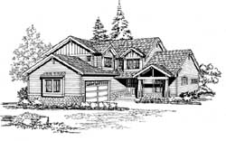 Craftsman Style House Plans Plan: 88-327