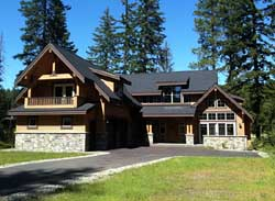 Mountain-or-Rustic Style Floor Plans Plan: 88-337