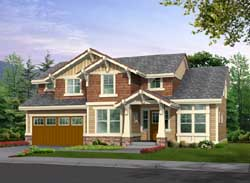 Craftsman Style Floor Plans Plan: 88-344