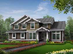 Craftsman Style House Plans Plan: 88-346