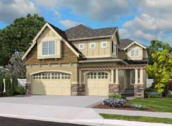 Shingle Style House Plans Plan: 88-415
