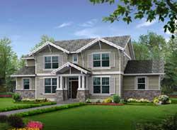 Craftsman Style House Plans Plan: 88-421