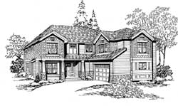 Craftsman Style House Plans Plan: 88-424