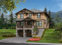 Shingle Style House Plans Plan: 88-426