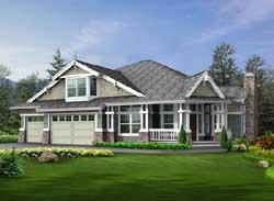 Craftsman Style House Plans Plan: 88-428