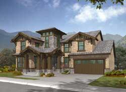 Craftsman Style House Plans Plan: 88-431