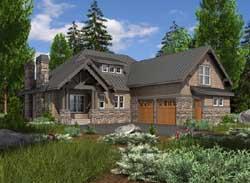 Craftsman Style Floor Plans Plan: 88-436