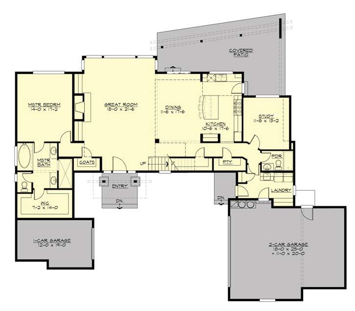 Main Floor Plan: 88-441