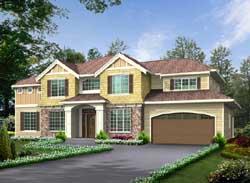 Hampton Style Floor Plans Plan: 88-449
