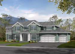 Hampton Style Floor Plans Plan: 88-450