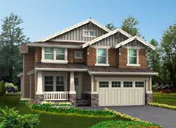 Craftsman Style House Plans Plan: 88-456