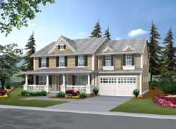 Farm Style House Plans Plan: 88-493