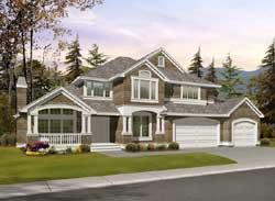 Hampton Style House Plans Plan: 88-511