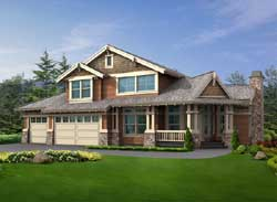 Craftsman Style House Plans Plan: 88-515