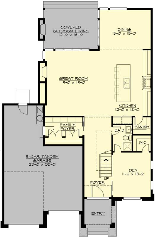 Main Floor Plan: 88-518