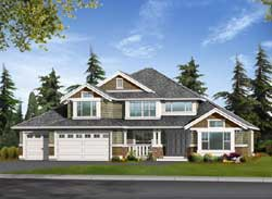 Craftsman Style House Plans Plan: 88-520