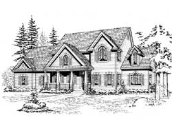 Farm Style Floor Plans Plan: 88-529