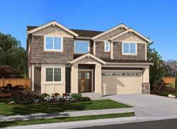 Hampton Style House Plans Plan: 88-531
