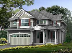 Hampton Style Floor Plans Plan: 88-546