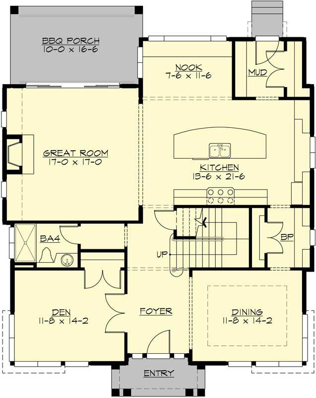 Main Floor Plan: 88-552