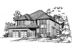 Craftsman Style Floor Plans Plan: 88-569