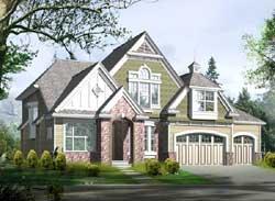 Hampton Style House Plans Plan: 88-572
