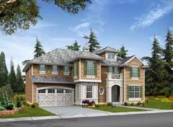 Hampton Style Floor Plans Plan: 88-581