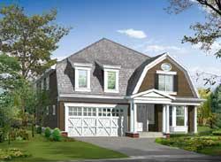 Cape-Cod Style Home Design Plan: 88-585