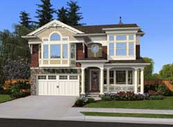 Victorian Style House Plans Plan: 88-605