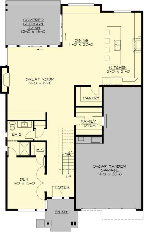 Main Floor Plan: 88-606