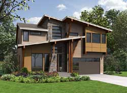 Modern Style Floor Plans Plan: 88-606