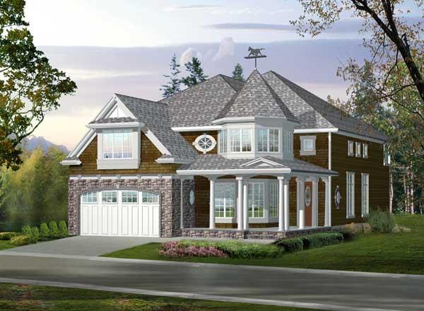 Hampton Style Floor Plans Plan: 88-607