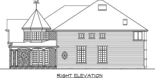 Hampton Style House Plans
